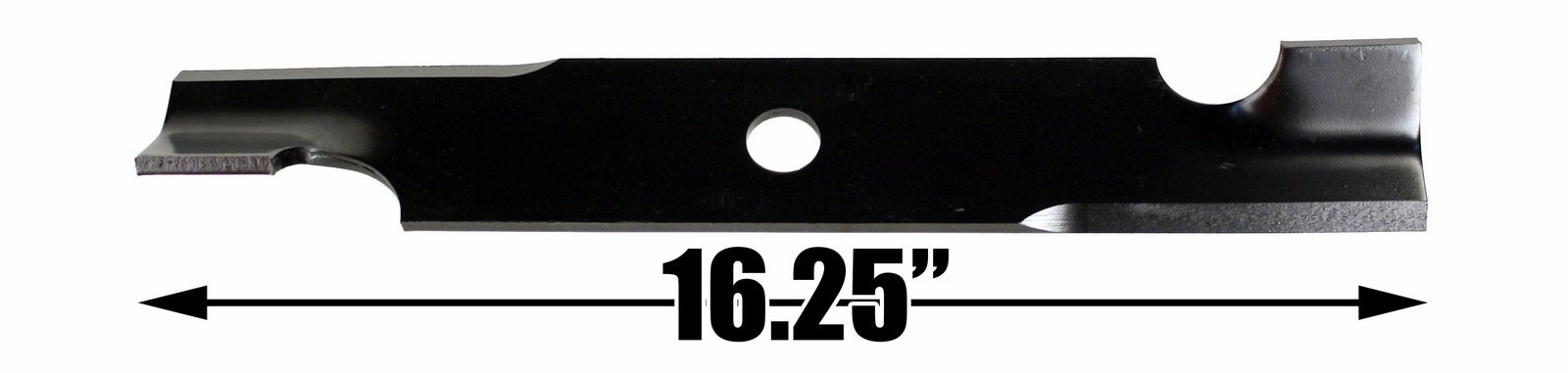 "16 1//4/"" Rotary 11231 Notched Air Foil High Lift Lawn Mower Blade Exmark 103-6401"